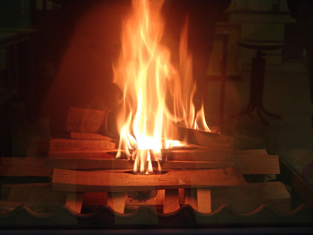 chauffage bois allume par le haut
